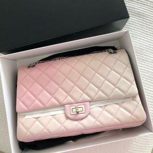 Chanel 2.55 reissue medium size pink